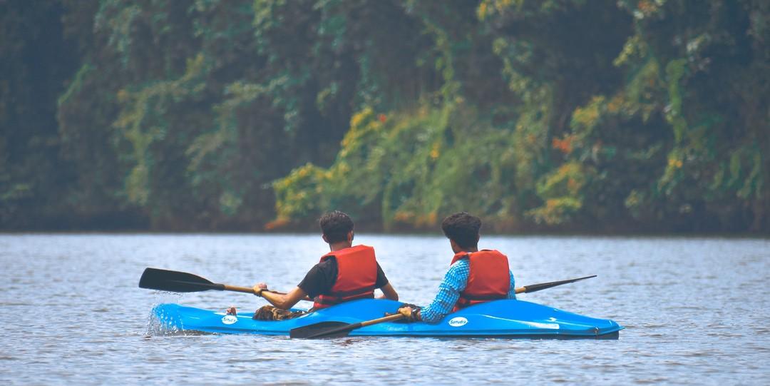 Kayaking River Tamar