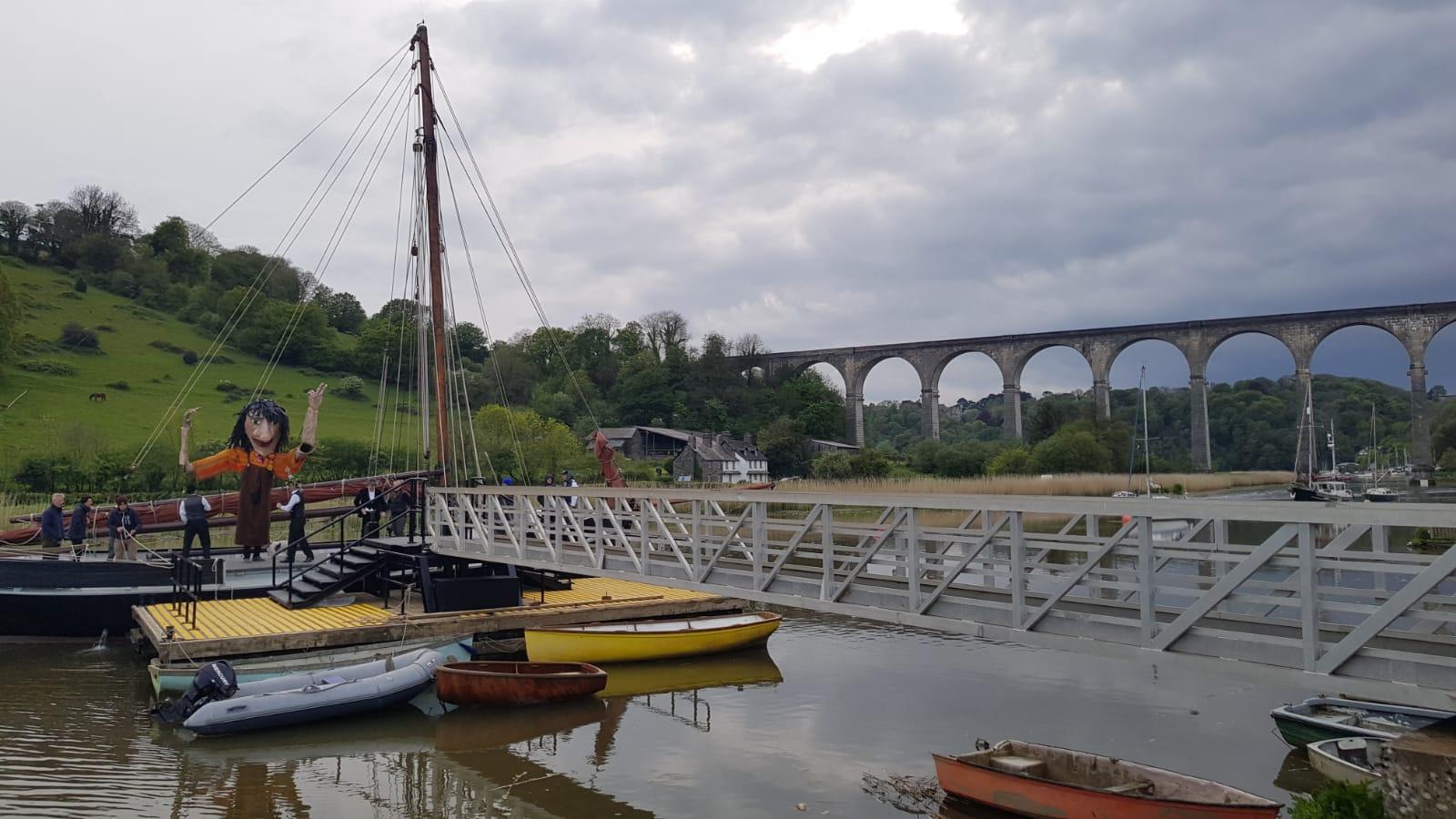 Calstock Giant Boat